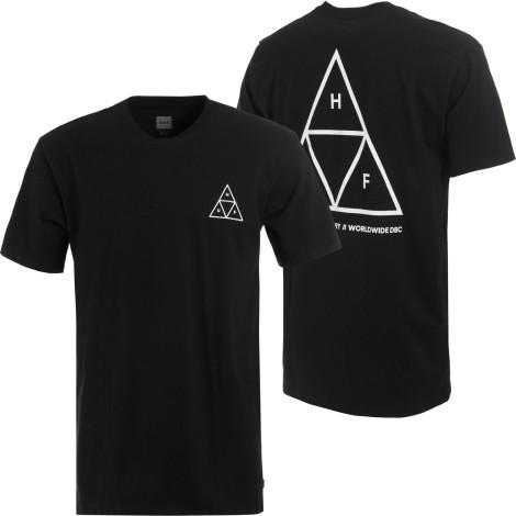 huf-triple-triangle-t-shirt-black
