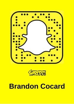 Brandon Cocard Snowboarder Snapchat