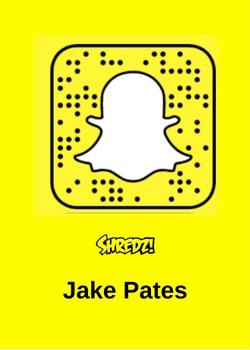 Jake Pates Snapchat Snowboarder
